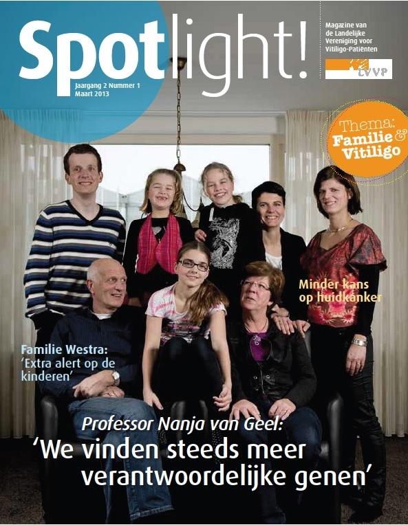 De cover van de nieuwe Spotlight!, die rond 18 maart verschijnt.