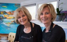 Tweeling Betty en Hanna in Libelle