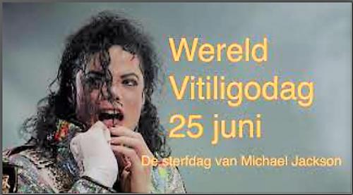 Wereld Vitiligodag 25 juni